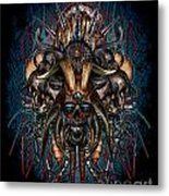 The Evils Rule This World Metal Print