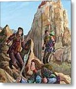 The Explorers Color Metal Print