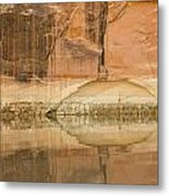 The Eye Of The River Metal Print