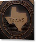 The Eyes Of Texas Are Upon You Metal Print