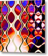 The Fabric Of Time Metal Print