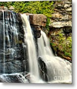 The Face Of The Falls Metal Print