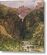 The Falls Of Tivoli Metal Print