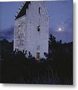 The Famed Sunken Church Is Featured Metal Print