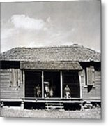 The Family Home Of Floyd Burroughs Metal Print