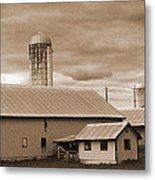 The Farm Metal Print