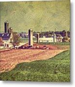 The Farm In Lancaster Metal Print