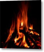The Fire Metal Print