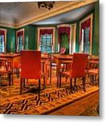 The First American Congress Senate Chamber - Independence Hall - Congress Hall -  Metal Print