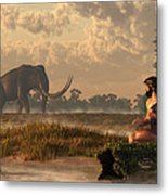 The First American Wildlife Artist Metal Print