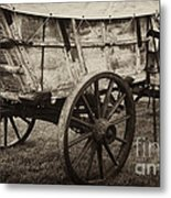 The First Station Wagons Metal Print