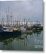 The Fishing Fleet Metal Print