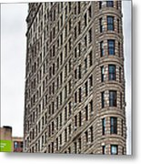 The Flat Iron Building Metal Print