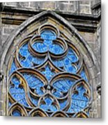 The Folly Of Windows In Prague Metal Print by Christine Till