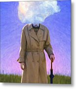 The Fool On The Hill Metal Print