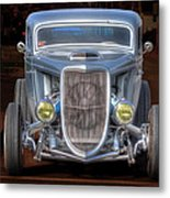 The Ford Grill Metal Print