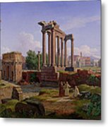 The Forum Rome  Metal Print