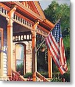 The Founders Home Metal Print