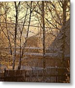 The Frosty Morning Metal Print