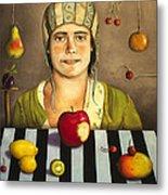 The Fruit Collector 2 Metal Print