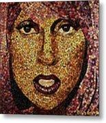 The Gaga Metal Print