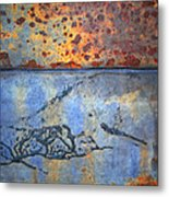The Garbage Can Metal Print