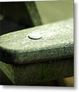 The Garden Bench Metal Print
