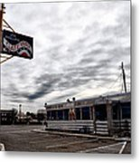 The Gateway Diner - Trooper Pa Metal Print
