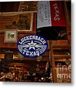 The General Store In Luckenbach Tx Metal Print