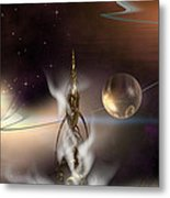 The Genie's Voice Metal Print