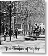The Genius Of Water 1906 Metal Print