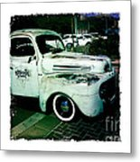 The Gentleman Scholar Truck Metal Print