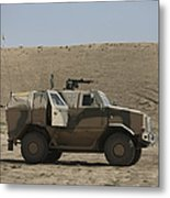 The German Army Atf Dingo Armored Metal Print