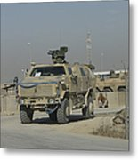 The German Army Atf Dingo With A Turret Metal Print