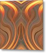 The Ghost Of Fire Metal Print