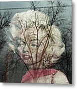 The Ghost Of Norma Jean Metal Print
