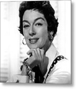 The Girl Rush, Rosalind Russell, 1955 Metal Print