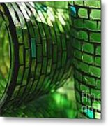 The Glass Is Always Greener... Metal Print