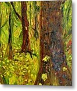 The Golden Forest Metal Print