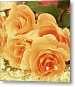 The Golden Gift Metal Print