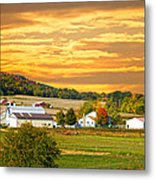 The Golden Ranch Metal Print