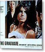The Graduate, Anne Bancroft, Katharine Metal Print by Everett