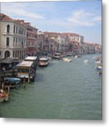The Grand Canal In The Morning Metal Print