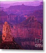 The Grand Canyon North Rim Metal Print