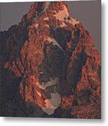 The Grand Teton At Sunrise Metal Print