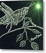 The Grasshopper Metal Print