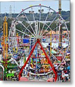 The Great American Midway Metal Print