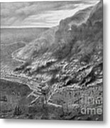 The Great Chicago Fire, 1871 Metal Print