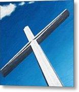 The Great Cross - Resurrection Metal Print