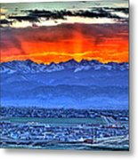 The Great Sunset Metal Print